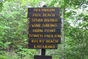 Fort Foster Park Kittery Maine York Beaches playground trails kayaking wind surfing scuba diving portsmouth harbor