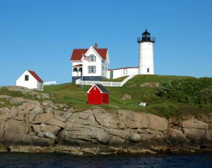 nubble light house cape neddick york Maine
