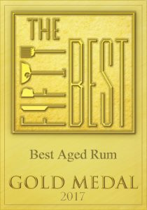 50 best, gold medal, gold, award, best aged rum, rum