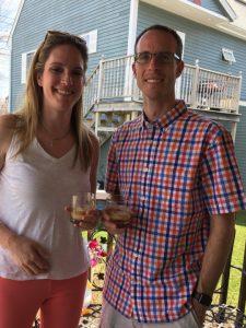 David Woods, Amanda Woods, bourbon, Easter, family