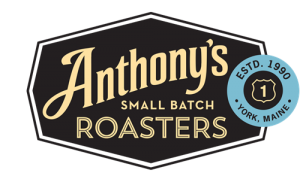 Anthony's small batch roasters, anthonys food shop, small batch, roasters, coffee, york, maine