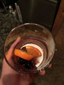 Wiggly, Old Fashioned, oranges, sugar, luxardo cherry, rocks glass, cocktail class