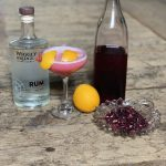 seaside blossom rum cocktail