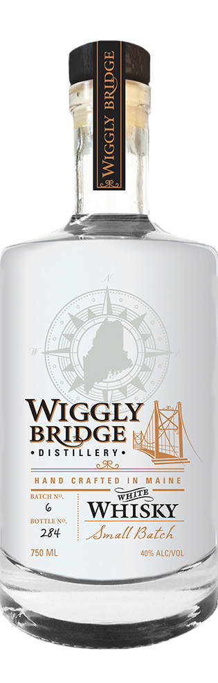 wiggly bridge distillery white whisky 100 proof