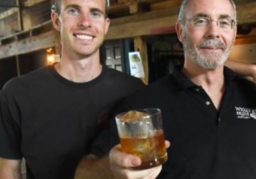 founders of wiggly bridge distillery distiller for a day
