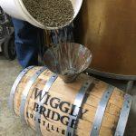 wiggly bridge barrel, coffee, beans, green beans, age